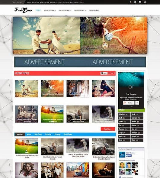 FullBox Blogger Template - Best Blogger Themes()