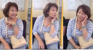 H Πίτσα Παπαδοπούλου τραγουδάει εκπληκτικά μέσα στο μετρό όταν επιβάτης της το ζήτησε