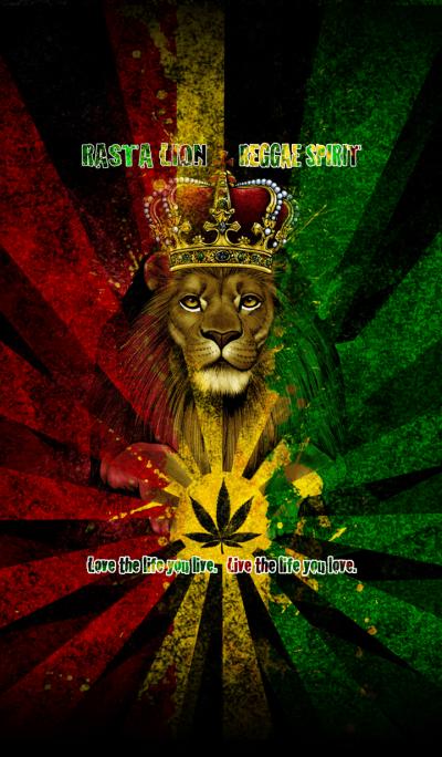 Rasta lion reggae spirit 7