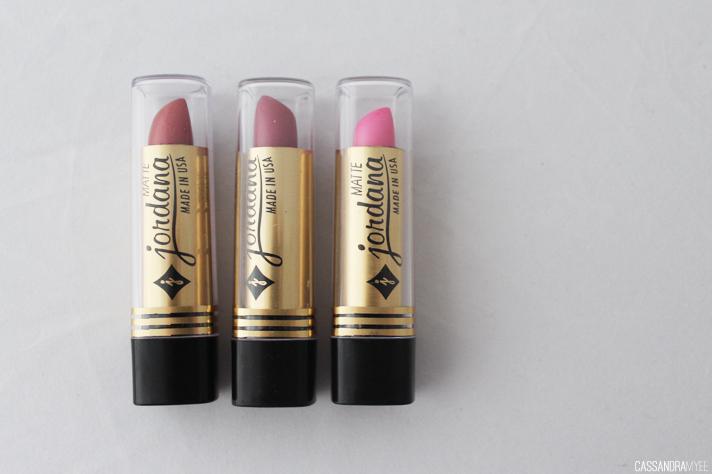 JORDANA // Lipstick Collection + Swatches - Matte Lipsticks - cassandramyee