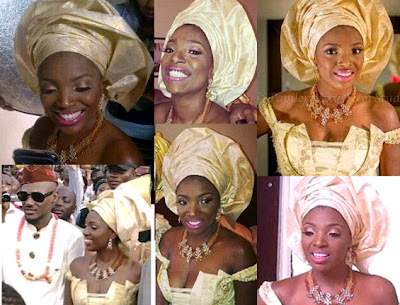 annie 2face idibia wedding pictures