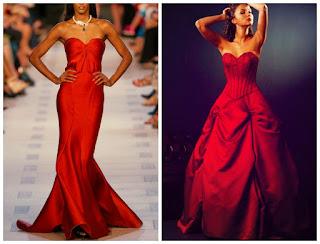 foto de vestido de noiva vermelho
