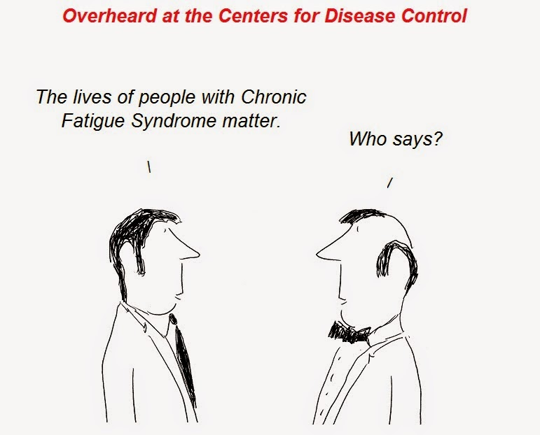 cartoon, cfs, chronic fatigue synrome, cdc, atlanta, epidemiology