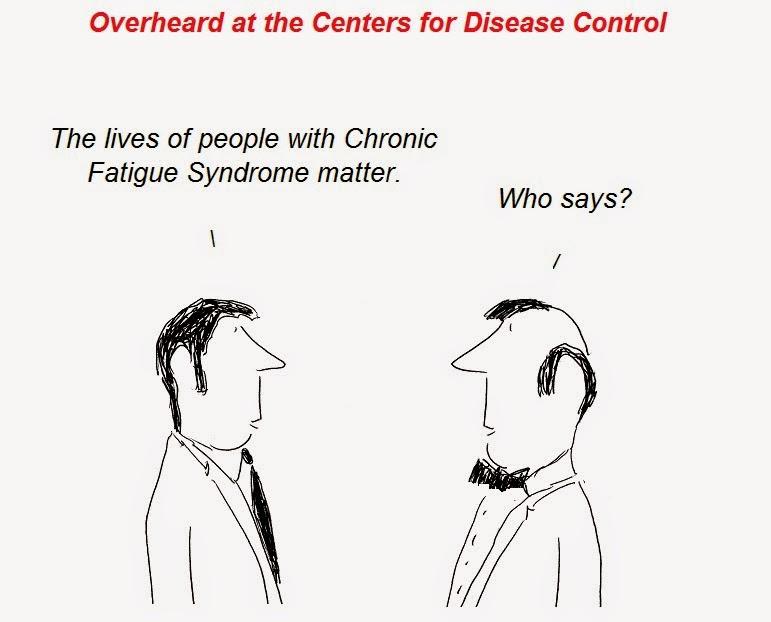 cartoon, cfs, chronic fatigue synrome, cdc, atlanta, epidemiology
