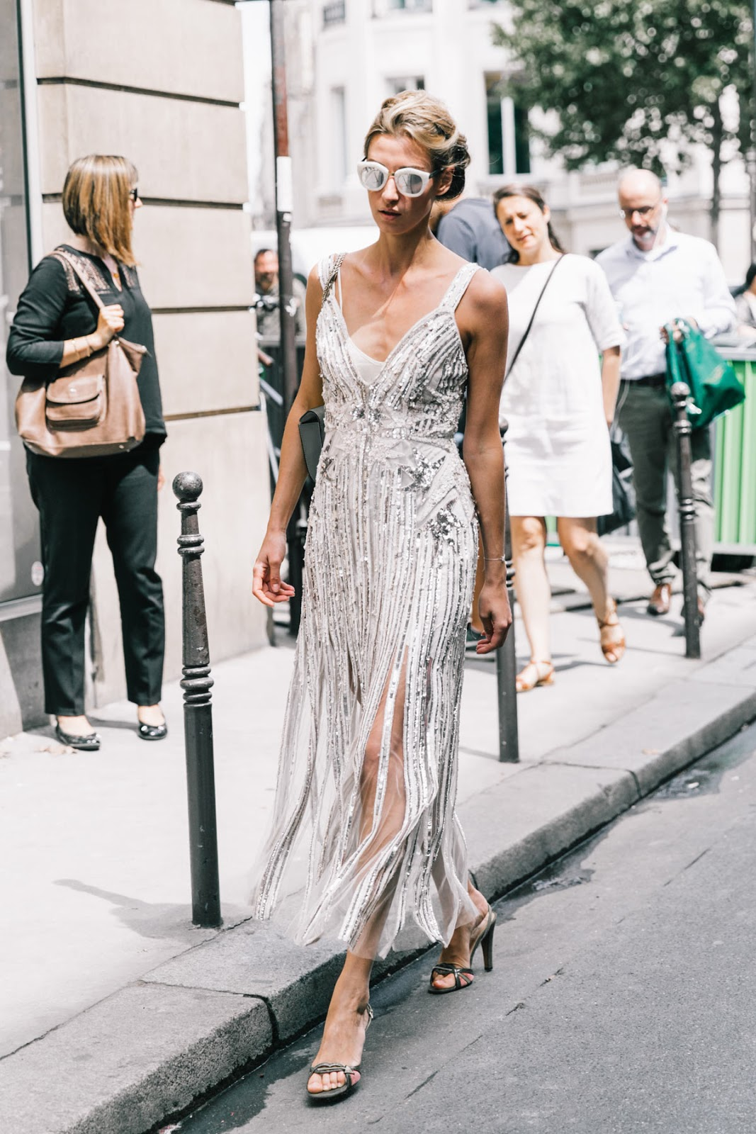 Style street at the couture shows