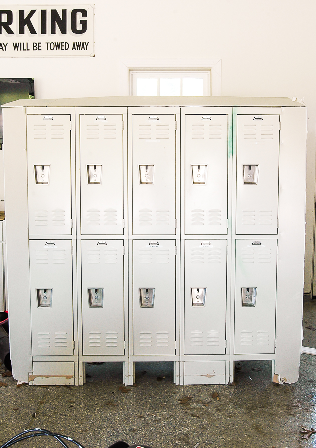 Lockers, vintage, lockers before