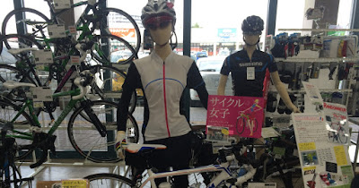 サイクル女子が増えてます。