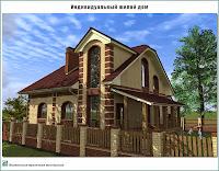 Проект жилого дома в пригороде г. Иваново - д. Афанасово Ивановского р-на