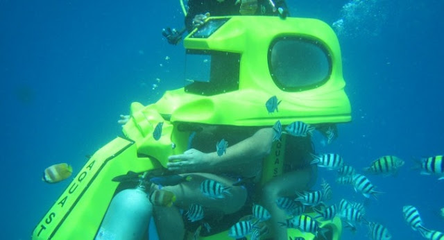 Menikmati Keindahan Bawah Laut dengan Underwater Scooter