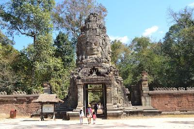 Gerbang Utara Angkor Wat