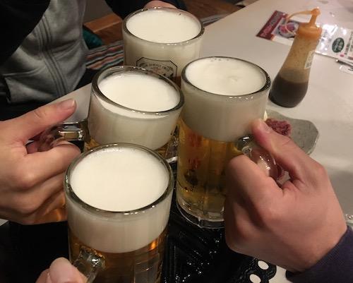 白馬のそば処 呑者屋 (のんじゃえ) ビール
