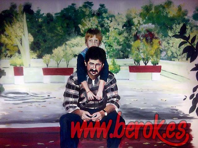 Murales pintados a mano de fotografías