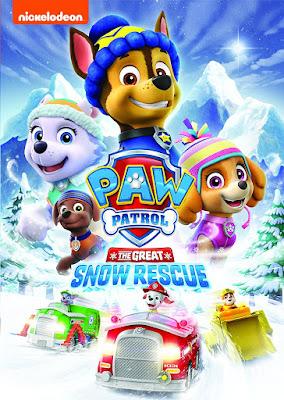 PAW Patrol The Great Snow Rescue 2017 DVD R1 NTSC Latino