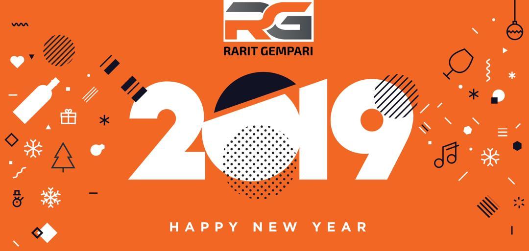 Happy New Year Orange 98