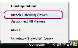 TightVNC: A complete Remote desktop Viewer used in