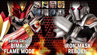 Download Game Bima-x Satria Garuda