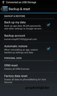 Factory Reset your Smartphone When Needed.