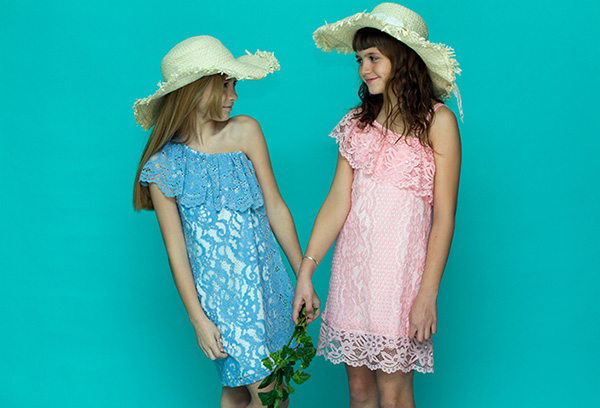 Vestidos primavera verano 2018 para niñas.