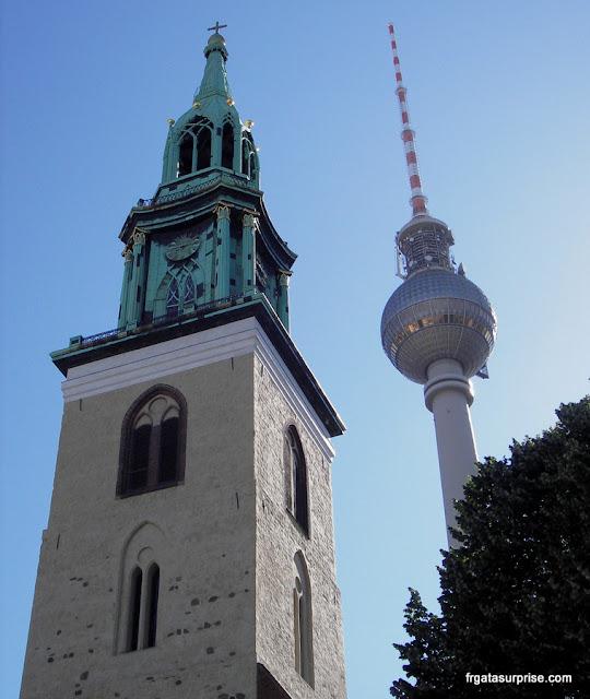 Igreja de São Nicolau (Nikolaikirche), a mais antiga de Berlim