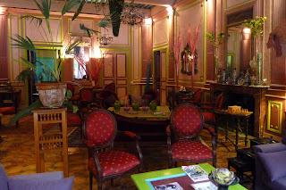 Salón del Hotel Digoine.