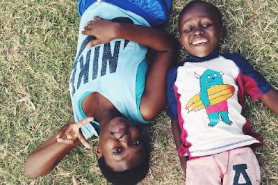 Esther en el proyecto de Kenia
