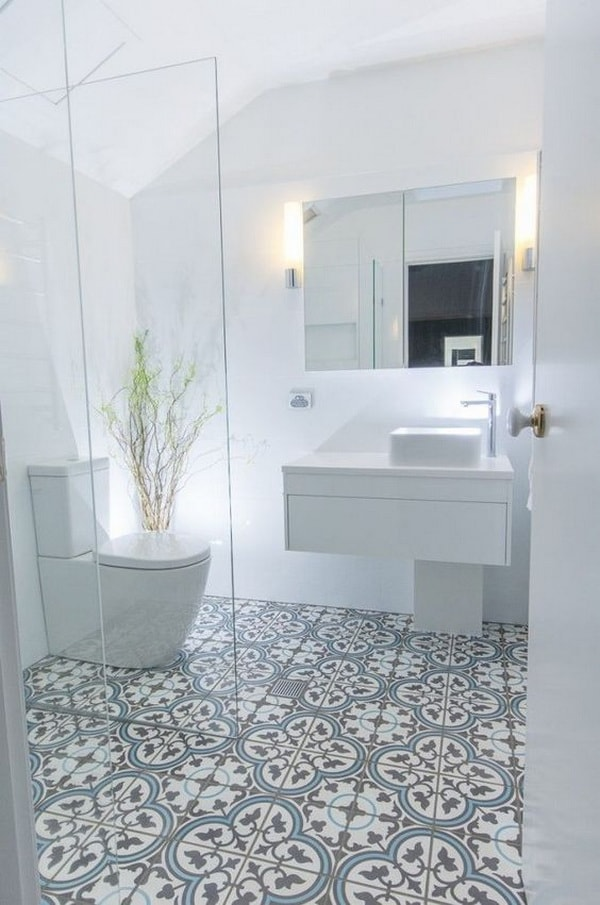 Ideas For Decorating With Cement Tiles or Hydraulic Tiles 6