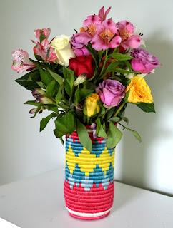 All Across Africa vase