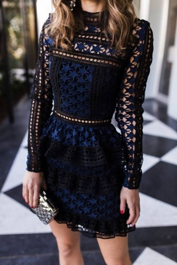 sukienka koronkowa