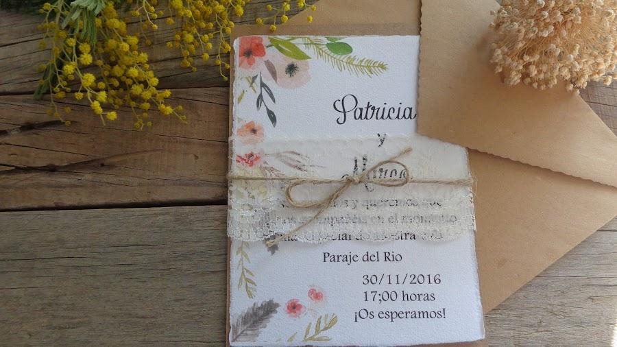 Invitaciones con Encaje para Novias muy Románticas