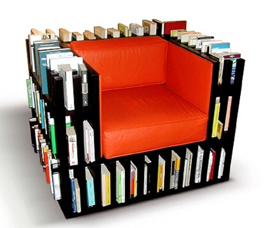 Of Unusual Bookshelf Designs That Could Bring Your Book Collection