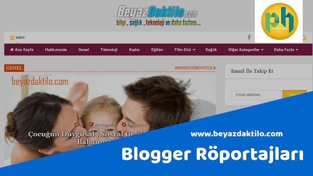 Blogger Röportajları: www.beyazdaktilo.com