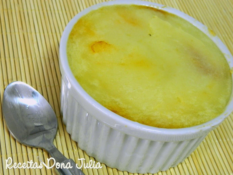 Escondidinho de linguiça com batata (sem leite, ovos)