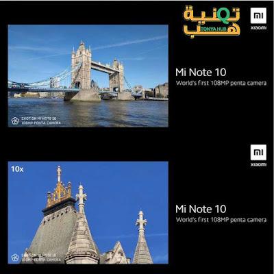 سعر ومواصفات Xiaomi Mi Note 10 أول هاتف بكاميرا 108 ميجابكسل