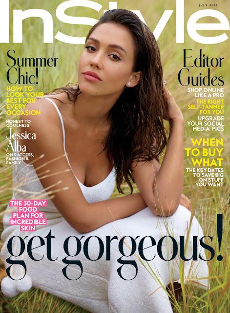 Actress, Model, @ Jessica Alba - Instyle magazine, July 2016