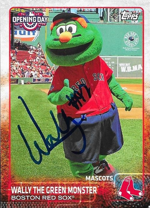 Gerard Hooks It Up With Some Red Sox Autos My good friend, Gerard, recently went to Red Sox Fest, or...