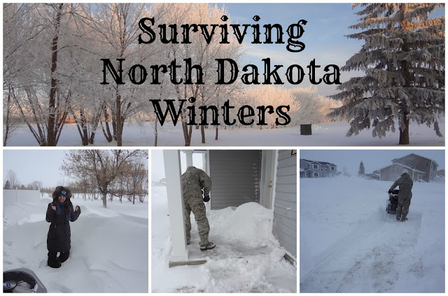 north dakota winters