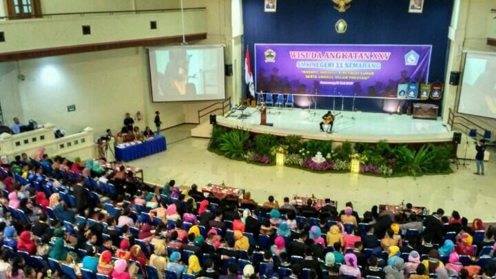 HP. 0856-4020-3369; Jasa Video Shooting Semarang ~Wisuda SMK N 11 Semarang~