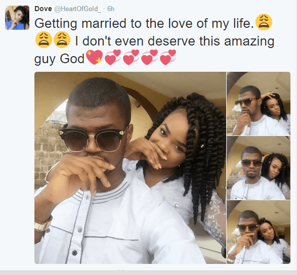 Big congratulations to Nigerian couple who met on Twitter gets ready for marriage (Photos) -