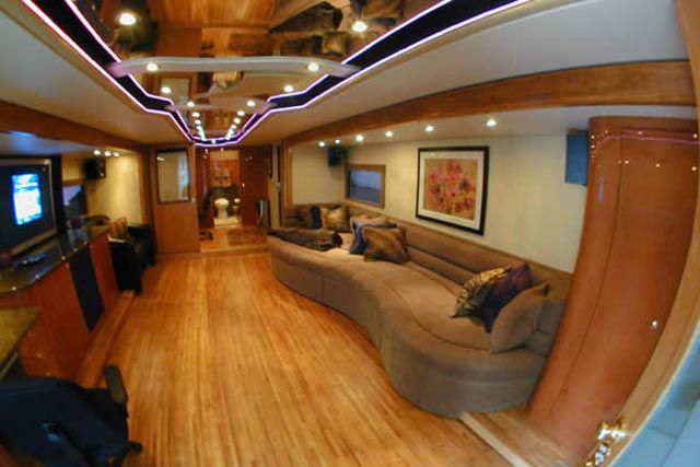 A Look Inside Will Smiths 18M Mobile Home  Damn Cool Pictures