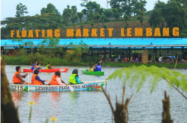 [Travel Destination] Floating Market - Lembang