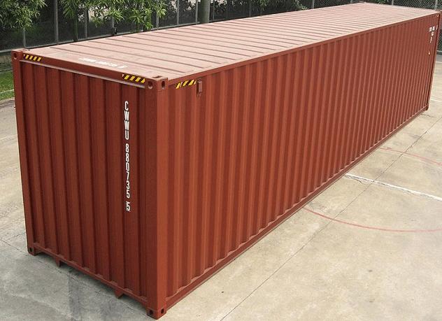 Lựa Chọn Container Văn Phòng Hiệu Quả Với 3 Nguyên Tắc 40hc-redbrown-front
