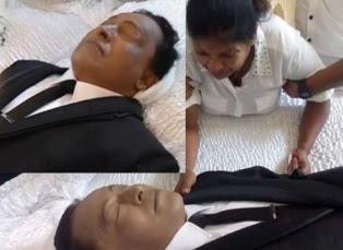 Wijaya Nandasiri Funeral