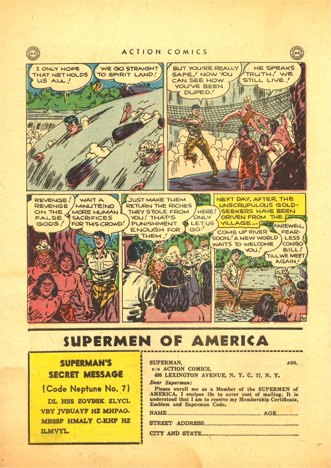 Read online Action Comics (1938) comic -  Issue #87 - 39