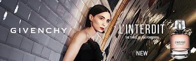 """Moda en Perfumes. Lo nuevo de Givenchy  """"L'INTERDIT""""."""