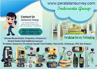 Toko Peralatan Survey dan Pemetaan Makassar