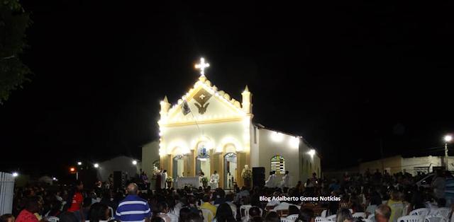 Festa do Padroeiro São José em  Olho D'Água do Casado, encerra-se nesta terça-feira, 19,  com procissão e missa