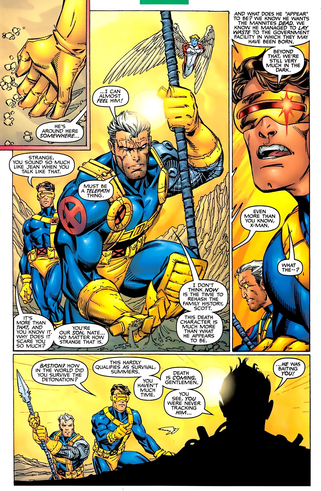 Read online Astonishing X-Men (1999) comic -  Issue #2 - 11