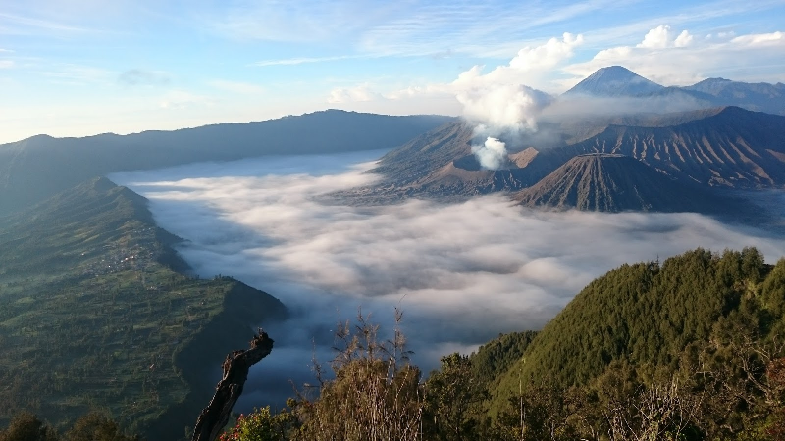 Mt.Bromo scenery, transport from surabaya to bromo-ijen-bali