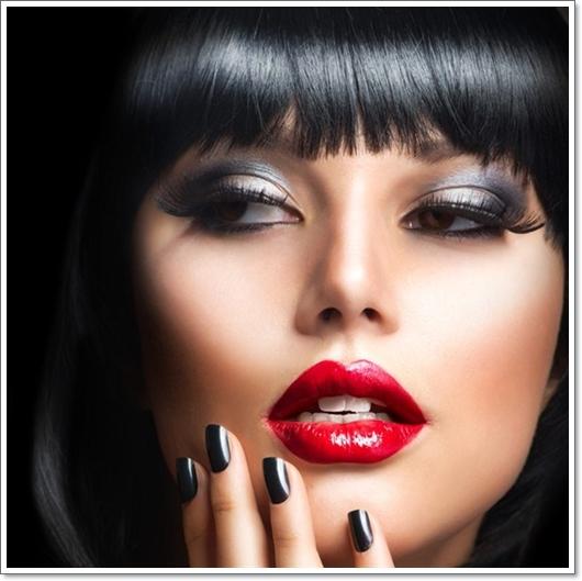 Make Up für Schwarzhaarige