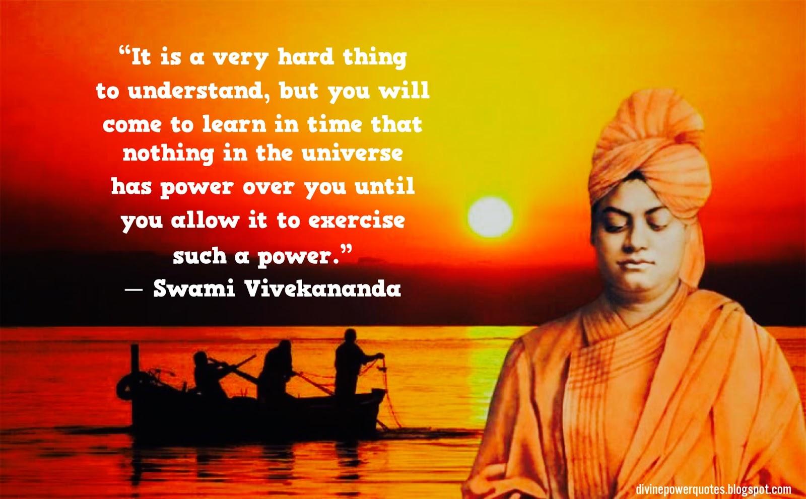 Divine Power Quotes Swami Vivekananda Quote